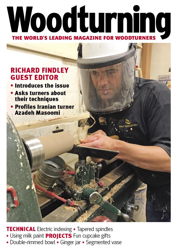 Woodturning Magazine Issue 361 Cover